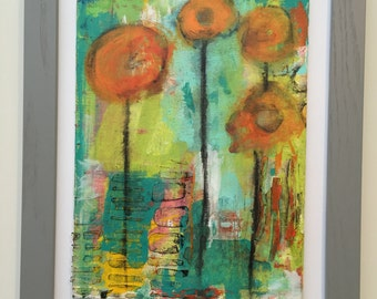 Spring I - Abstract Painting