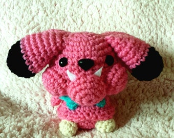 Amigurumi Pokemon: Snubbull ***Made to Order***