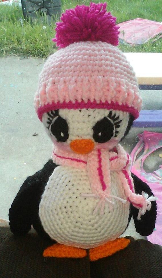 Amigurumi Crochet Penguin Pattern : Crochet Amigurumi Penguin Pattern Only