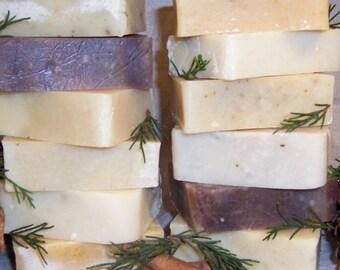 12 bars Handmade Goat Milk Soap  BULK DISCOUNT