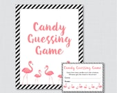 Flamingo Baby Shower Cand...