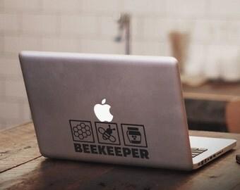 Bee Keeper Vinyl Decal
