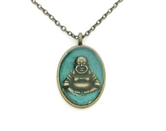 Buddha necklace / buddha jewelry / spiritual jewelry / yoga necklace / buddhist jewelry / metaphysical necklace / anniversary gift