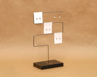 Earring Holder / 3-Tier Earring Display / Earring Stand / Bracelet Stand / Necklace Stand / Jewelry Holder Organizer / ER004
