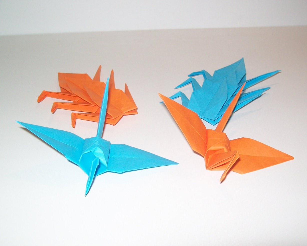 Origami Crane, wedding crane, Set of 1000 wedding decor origami ...