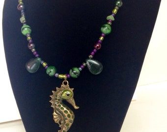 Sea Horse Guardian Necklace