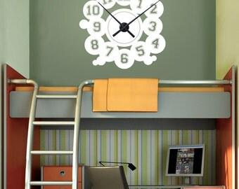 VARSITY NUMBERS clock wall decals  Interior decor
