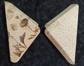 Journal/Notebook Corner Pockets #12 - Triangle