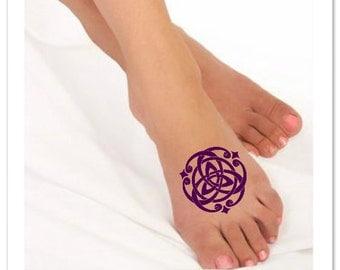 Temporary Tattoo Celtic Knot Waterproof Ultra Thin Realistic Fake Tattoos