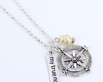 My True North Compass Necklace