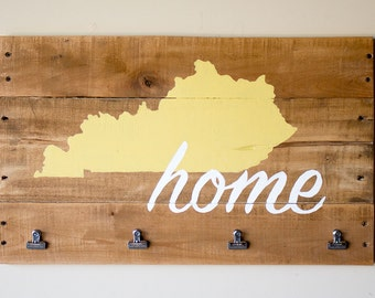 Kentucky (Or Pick Your State) Pallet Display Board - Great for Instagram photos!