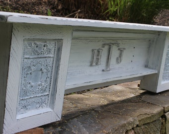 Baby's Shelf Baby's Mantel Country Baby Mantel Monogrammed Shelf monogrammed mantel Initial Shelf Personalized shelf initial mantel shelf