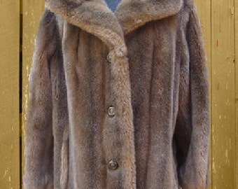 VINTAGE SEARS FASHIONS faux Fur