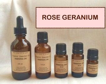 Essential Oil: Rose Geranium