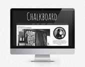 Chalkboard: Premade Blogger Template by Samijaynelee