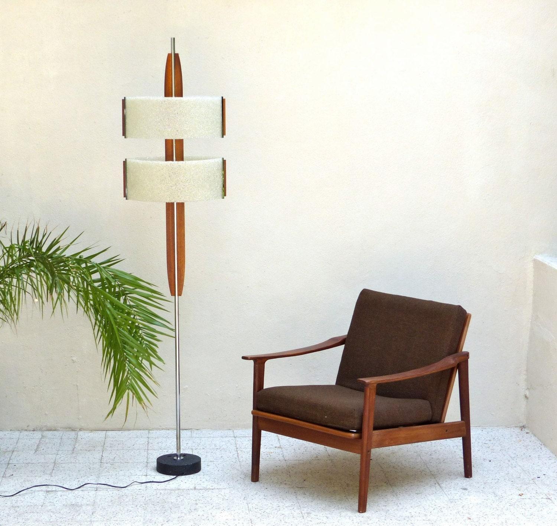 lampadaire vintage scandinave mid century scandinavian floor. Black Bedroom Furniture Sets. Home Design Ideas