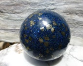 Lapis Lazuli Sphere with Pyrite
