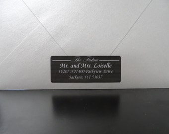 30 Future Mr and Mrs Wedding Return Address Labels, Personalized Wedding Return Address Label, Wedding Address Labels, Return Address Labels