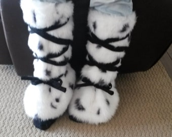 Faux Fur Leg Warmers/ Boot Covers/ Fluffies