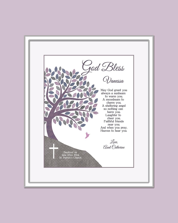 Baby Gifts For Catholic Baptism : Baptism gift for girls catholic by