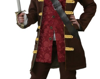 Adult Women's Anne Bonny, Mary Read Pirate Costume - Pirate Clothing for Women - 1700s Period Clothes
