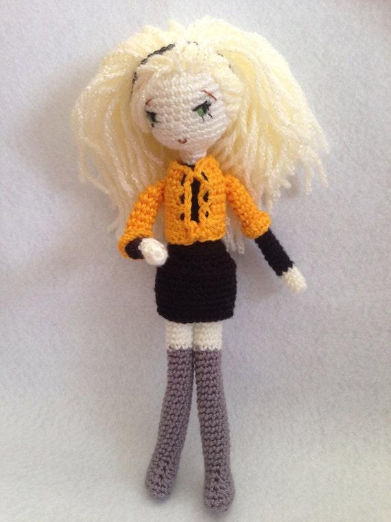 Amigurumi Jacket : Amigurumi Blonde Girl PDF PATTERN