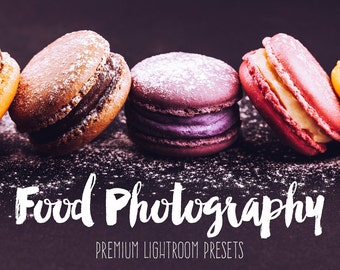 Food Lightroom Presets Professional Collection best food photography presets, Lightroom presets food, photoshop presets INSTANT DOWNLOAD