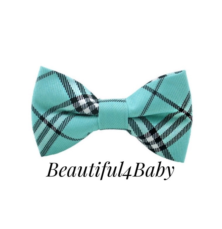 turquoise baby bow tie turquoise toddler bow tie turqoise