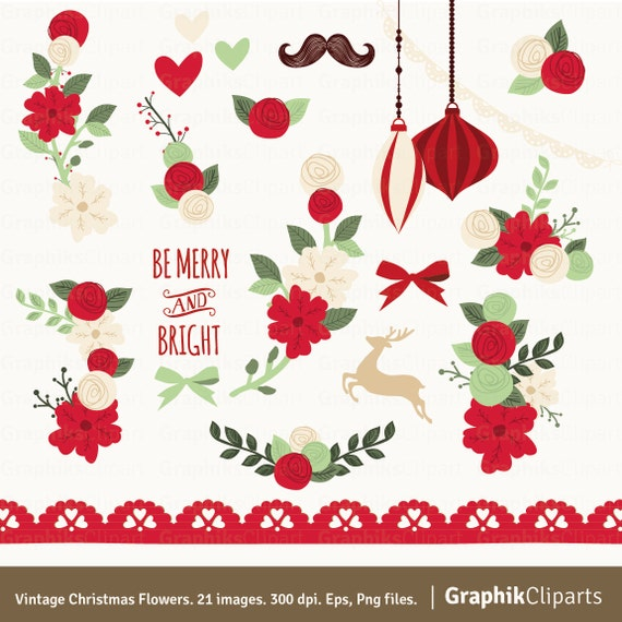 christmas flower clip art  clipart download, Beautiful flower