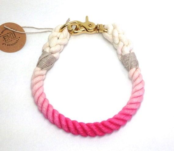 Cotton Rope Dog Collars