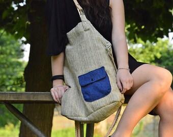 Big Bag Grey // Handmade