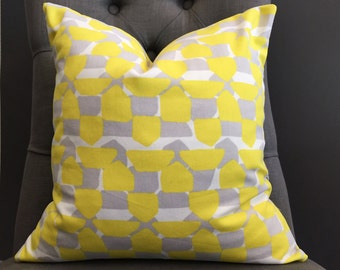 Pillow Cover, Yellow Pillow Cover, BROOKLYN