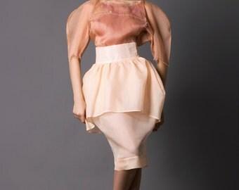 Designer Blouse, Hand Painted Silk Blouse, Silk Blouse, Women's Blouse, Summer Top, Pink blouse, Pach Pink Silk Blouse, Chic Blouse,