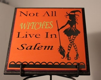 Halloween Decor, witch decor, Halloween witch decor, Halloween sign, Halloween wall art, Salem witches, Halloween witch saying