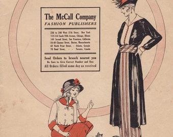 PDF Reproduction - 1914 Fall-Winter- McCall Pattern Catalog