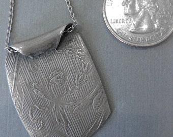Floral Silver Pendant