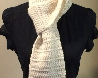 Women's Crocheted Scarf