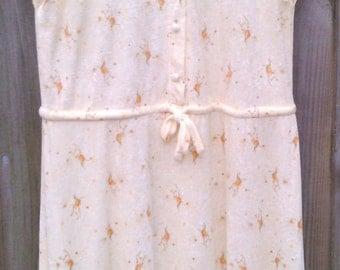Vintage Size 16 Plus Size 1980s Dress