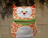 Laundry Cat Clothes Pin Holder - Pattern PDF