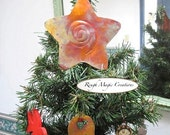 Christmas Tree Topper, Copper Star, Rustic Metalwork Holiday Decor, Decoration HANDMADE in AMERICA