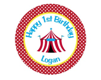Circus Iron On Transfer for Birthday Shirt - Circus Theme Birthday Party Iron on Transfer - Circus Birthday Outfit - Carnival Birthday