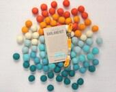 Felt Pom-Poms // Atomic Age (optional garland kit) // Felt Balls by Benzie