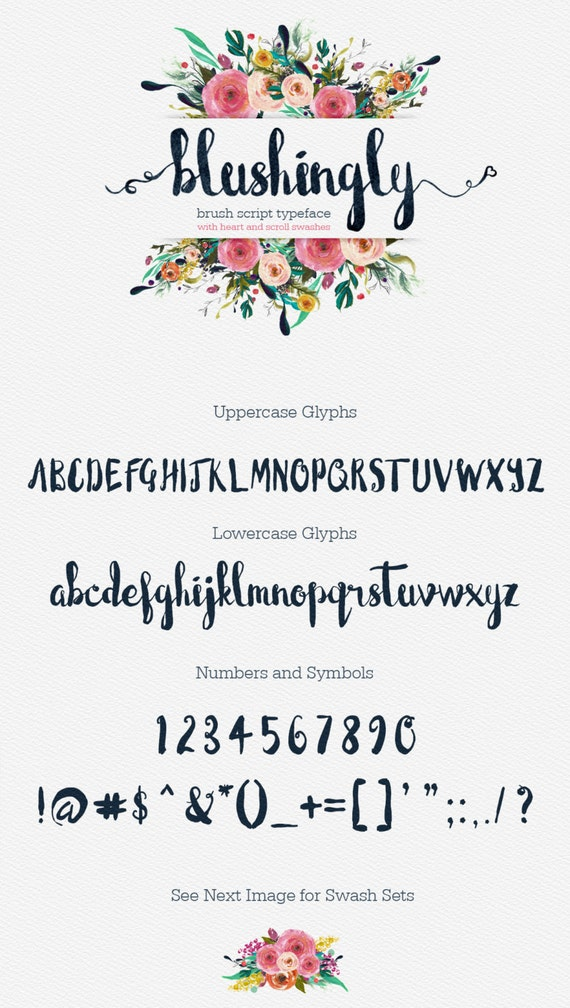 Calligraphy font modern digital fonts wedding