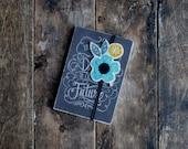 Felt Bookmark - Hand Embroidered Bookmark - Teacher Gift - Unique Bookmark
