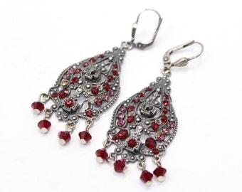 Swarovski Crystal Chandelier Earrings Free Shipping