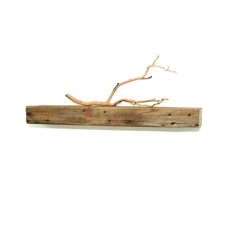 Reclaimed Wood Floating Shelf 30
