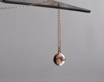 rose gold locket necklace, small locket, tiny locket necklace, locket pendant necklace, gold locket necklace, ruby, moonstone, lapis azurite