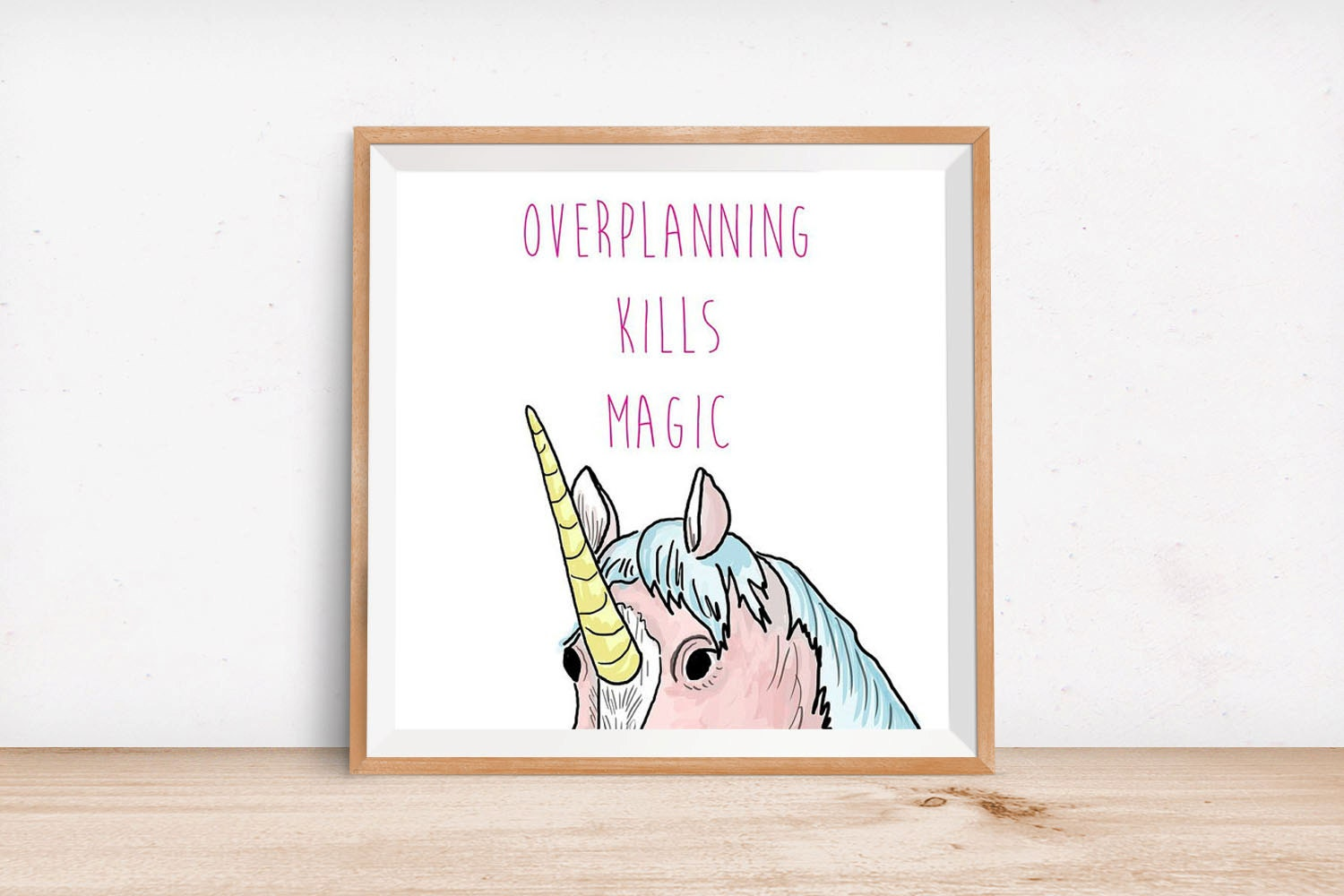 cute home office print home decor unicorn print by magical unicorn clothing amp unicorn decor items