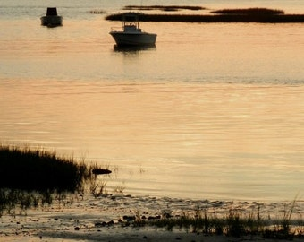 Eastham MA Cape Cod Bay Sunset Photo