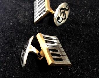 Piano Cuff-links